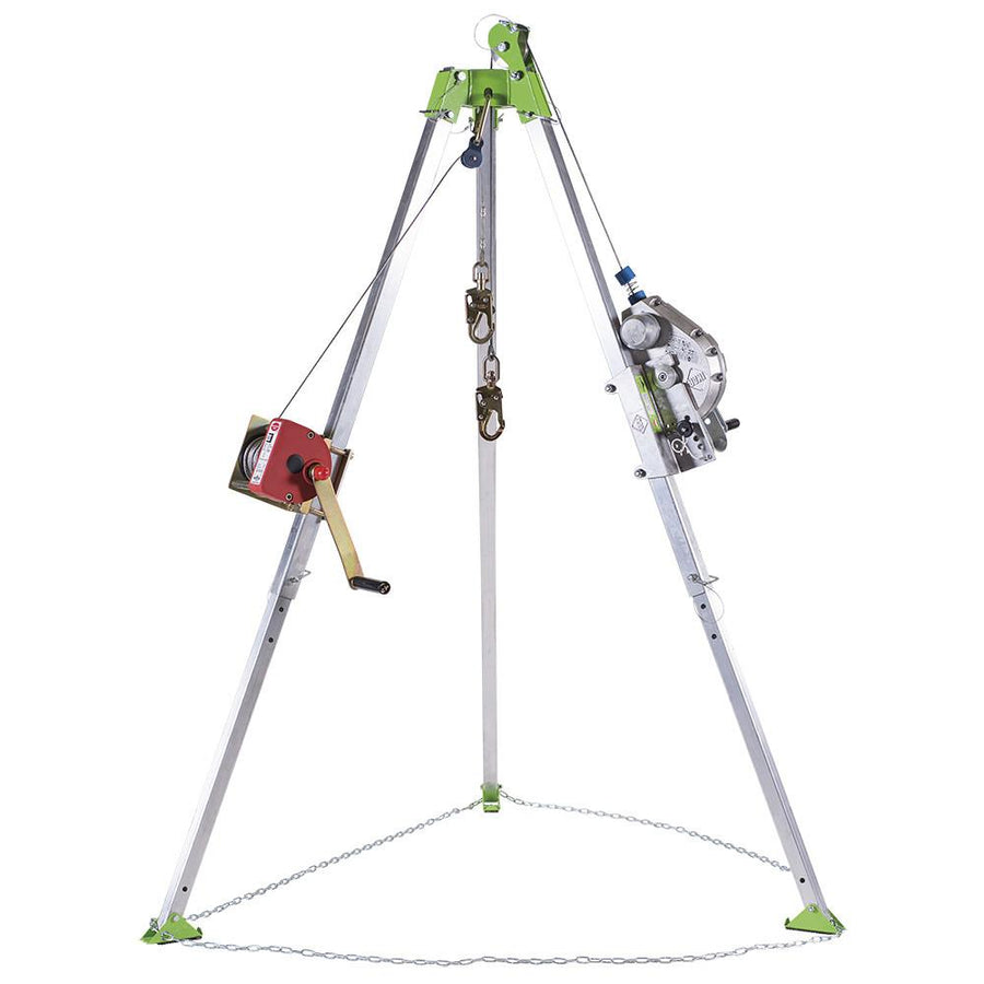 Confined Space Kit | Tripod, Self-Retracting Lifeline, Work Winch