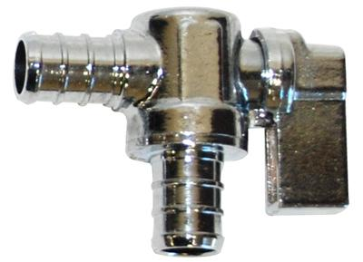 PEX Quarter Turn Stop Valves Tubing and Fittings - Cleanflow