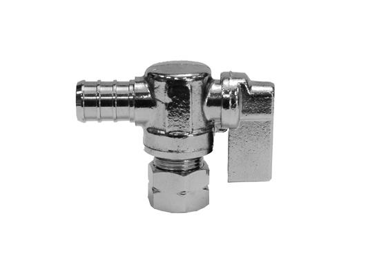 PEX X Comp Quarter Turn Stop Valves Tubing and Fittings - Cleanflow