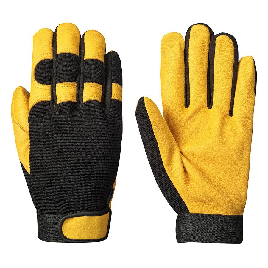 Pioneer 890 Mechanic's Style Ergonomic Glove | M-XL Work Gloves and Hats - Cleanflow