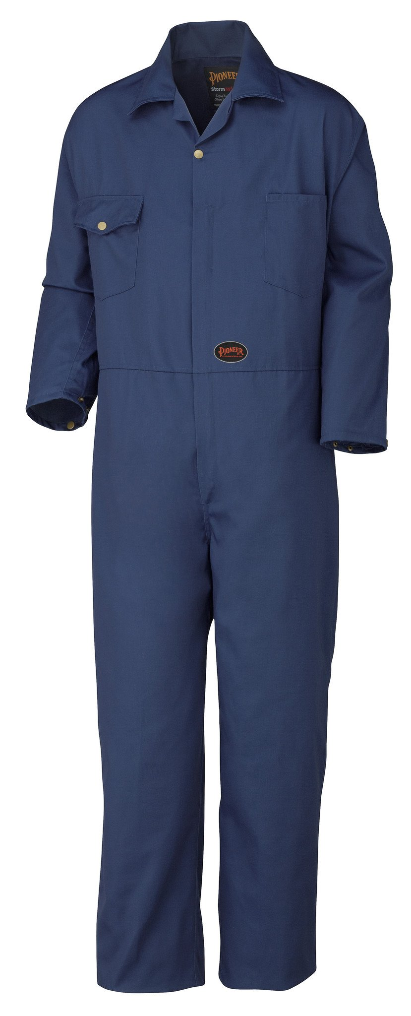 Pioneer Unlined Poly-Cotton Coveralls | Navy | Sizes 40R -60T