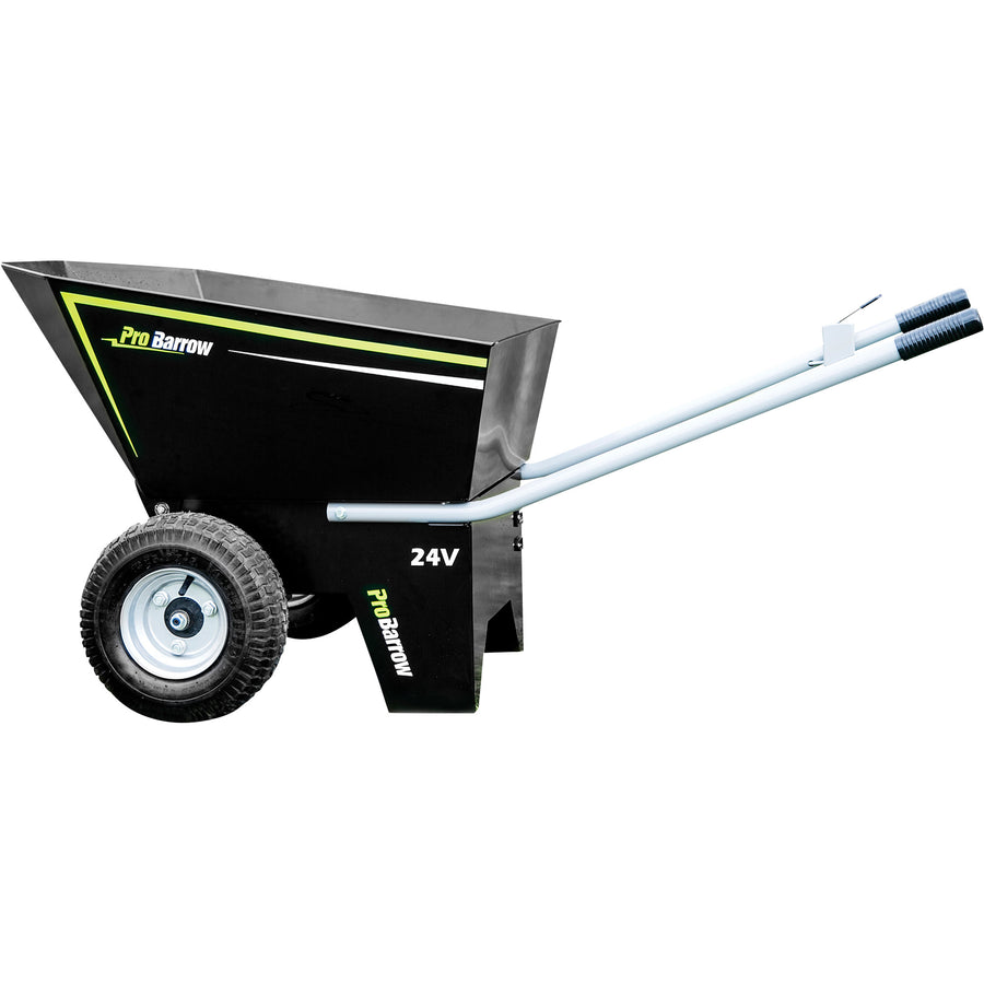 ProBarrow Elite Battery-Powered Wheelbarrow with Flat-Free Tires Hand Tools - Cleanflow