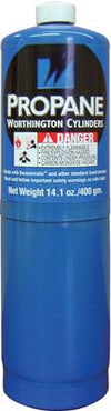 Propane Cylinder Tank | 14.1 oz Pipe Tools - Cleanflow