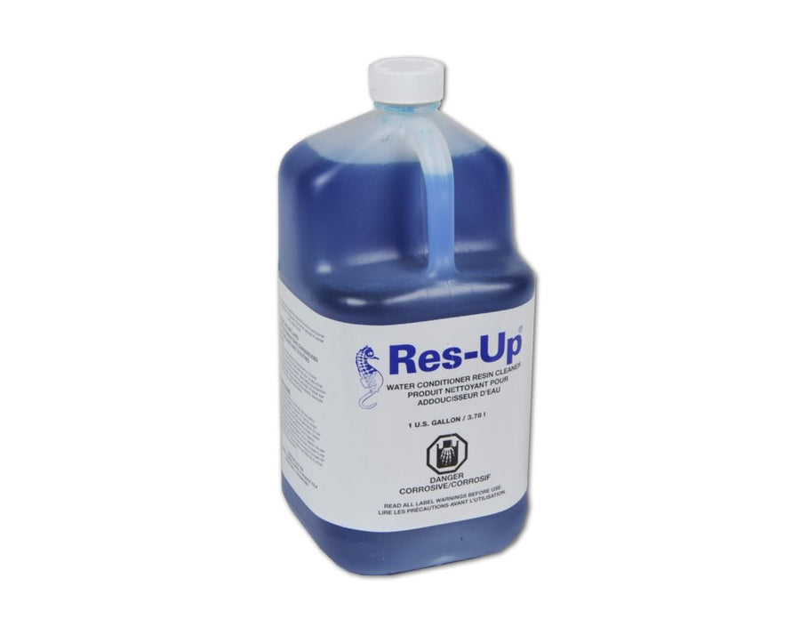 Rez-Up Resin Cleaning Agent Commercial Water Filters and UV Parts - Cleanflow