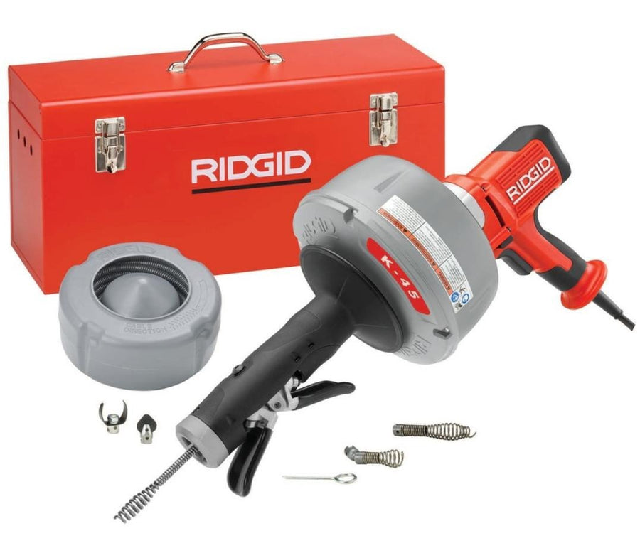 Ridgid K-45 Small Line Machine
