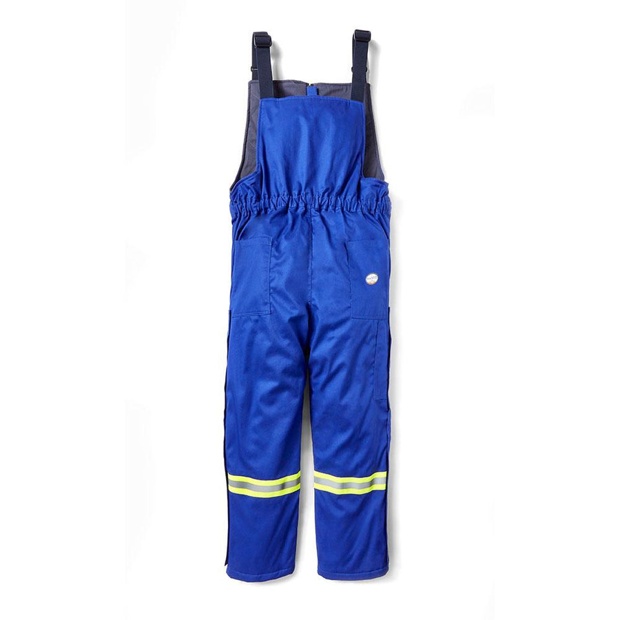 Rasco FR Hi-Vis Insulated Westex Ultrasoft Winter Bib Overalls | Royal Blue | S-3XL Flame Resistant Work Wear - Cleanflow