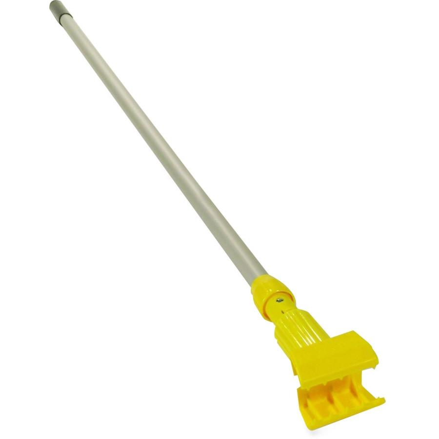 "Rubbermaid Gripper 60"" Fiberglass Wide Band Mop Handle"