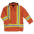 Work King s157 Cotton Duck Winter Safety Parka | Orange | S-3XL
