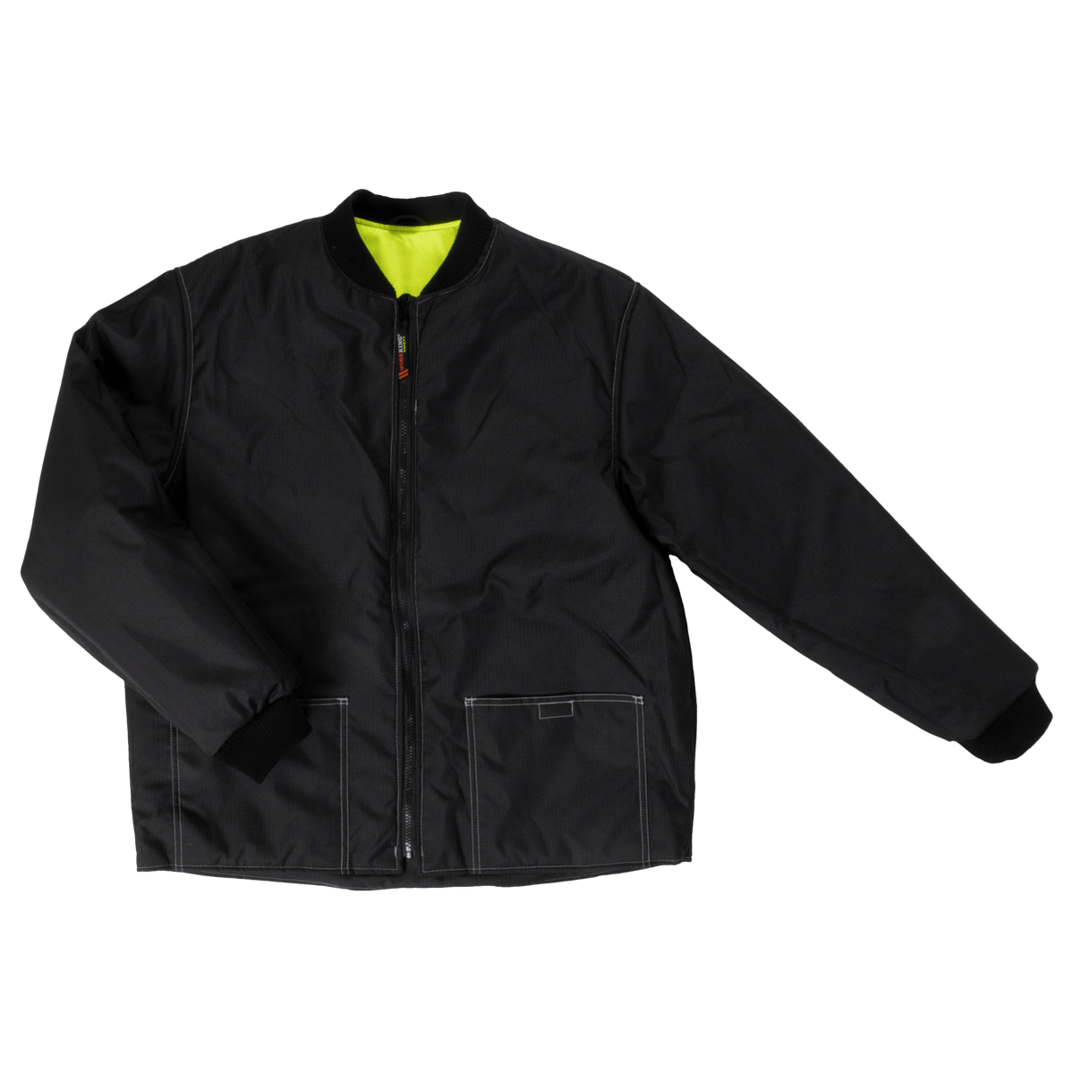 Tough Duck SJ29 Reversible Insulated Safety Jacket | Yellow | Sizes XS-5XL Hi Vis Work Wear - Cleanflow