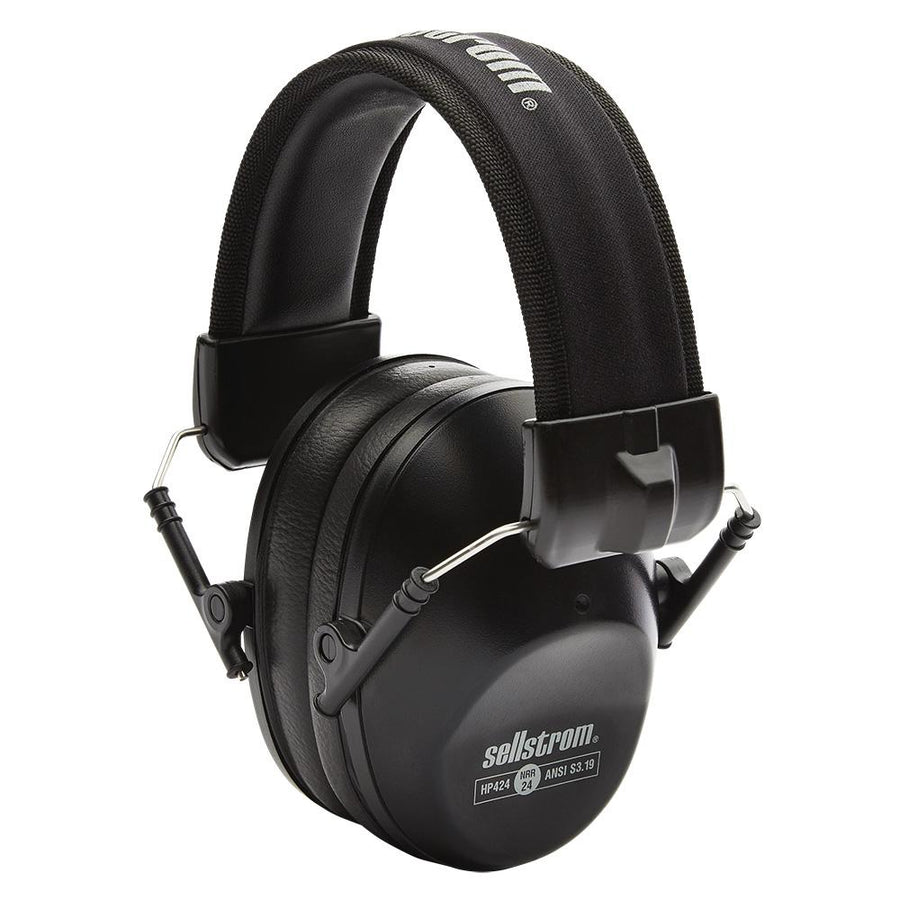 Sellstrom HP424 Premium Low Profile Fold-Away Earmuffs | NRR 24dB Personal Protective Equipment - Cleanflow