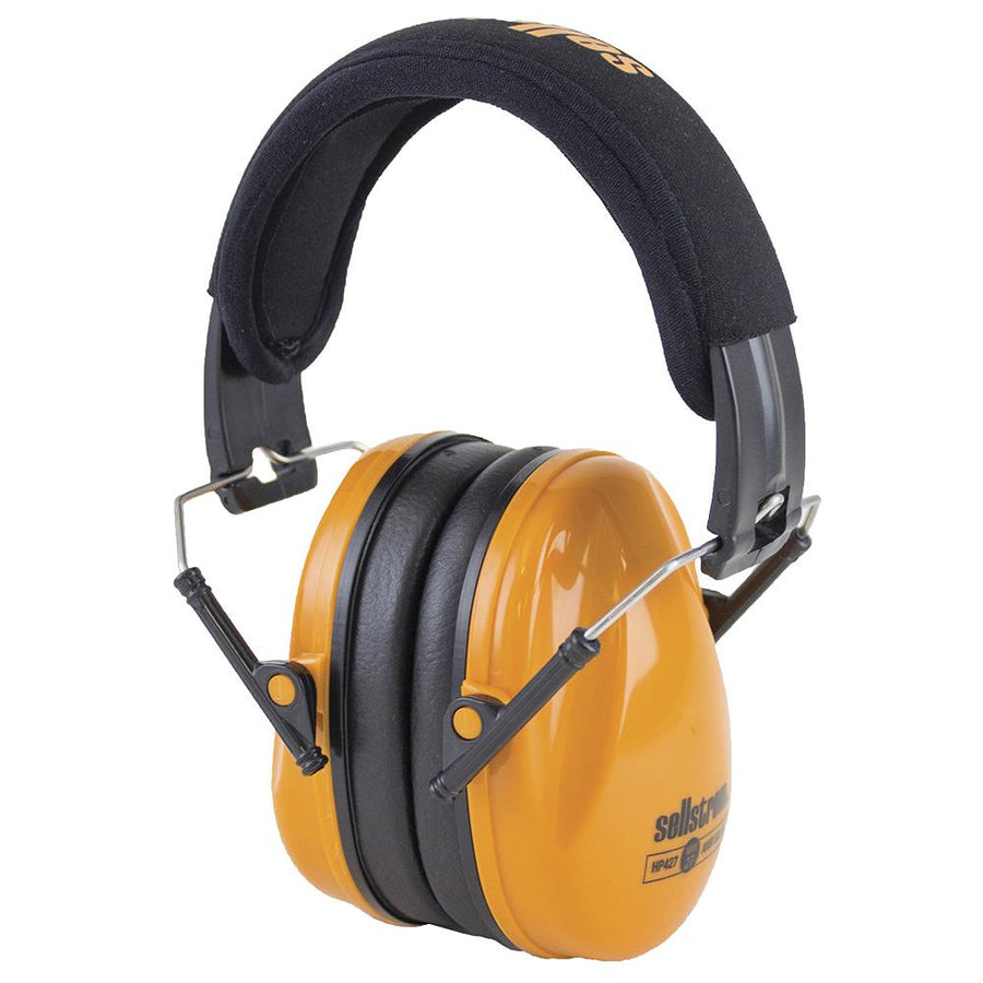 Sellstrom HP427 Premium Low Profile Fold-Away Earmuffs | NRR 27dB Personal Protective Equipment - Cleanflow