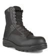 STC 911 EMS / Military Boot with Side-Zip Closure | Black | Sizes 6 - 14 Work Boots - Cleanflow