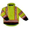 Work King s426 Insulated 300D 5-In-1 Safety Jacket | Yellow | Limited Size Selection Hi Vis Work Wear - Cleanflow