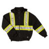 Tough Duck s474 Insulated Safety Hoodie | Black | S-3XL Hi Vis Work Wear - Cleanflow