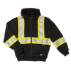 Work King s494 Unlined Safety Hoodie | Black | Limited Size Selection Hi Vis Work Wear - Cleanflow