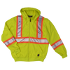 Tough Duck s494 Unlined Safety Hoodie | Yellow | S-5XL Hi Vis Work Wear - Cleanflow