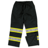 Tough Duck Insulated 300D Safety Snow Pants | Black | Limited Size Selection Hi Vis Work Wear - Cleanflow