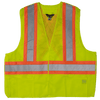 Work King s9i0 High Visibility Tearaway Safety Vest | Yellow | S/M to 2XL/3XL Hi Vis Work Wear - Cleanflow