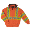 Work King SJ16 Thermal Lined Safety Hoodie | Orange | Limited Size Selection Hi Vis Work Wear - Cleanflow