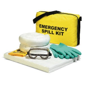 SpillTech Oil Only Emergency Tote Bag Spill Kit Facility Safety - Cleanflow