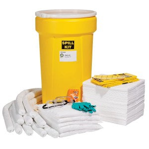 SpillTech Oil Only 55-Gallon Spill Kit Facility Safety - Cleanflow