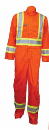 Wenaas Offshore FR CSA Coverall | Orange | Sizes S - 4XL Flame Resistant Work Wear - Cleanflow