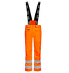 Lyngsoe Flame Resistant HI VIS Rain Trousers | Orange | Sizes S - 4XL Flame Resistant Work Wear - Cleanflow