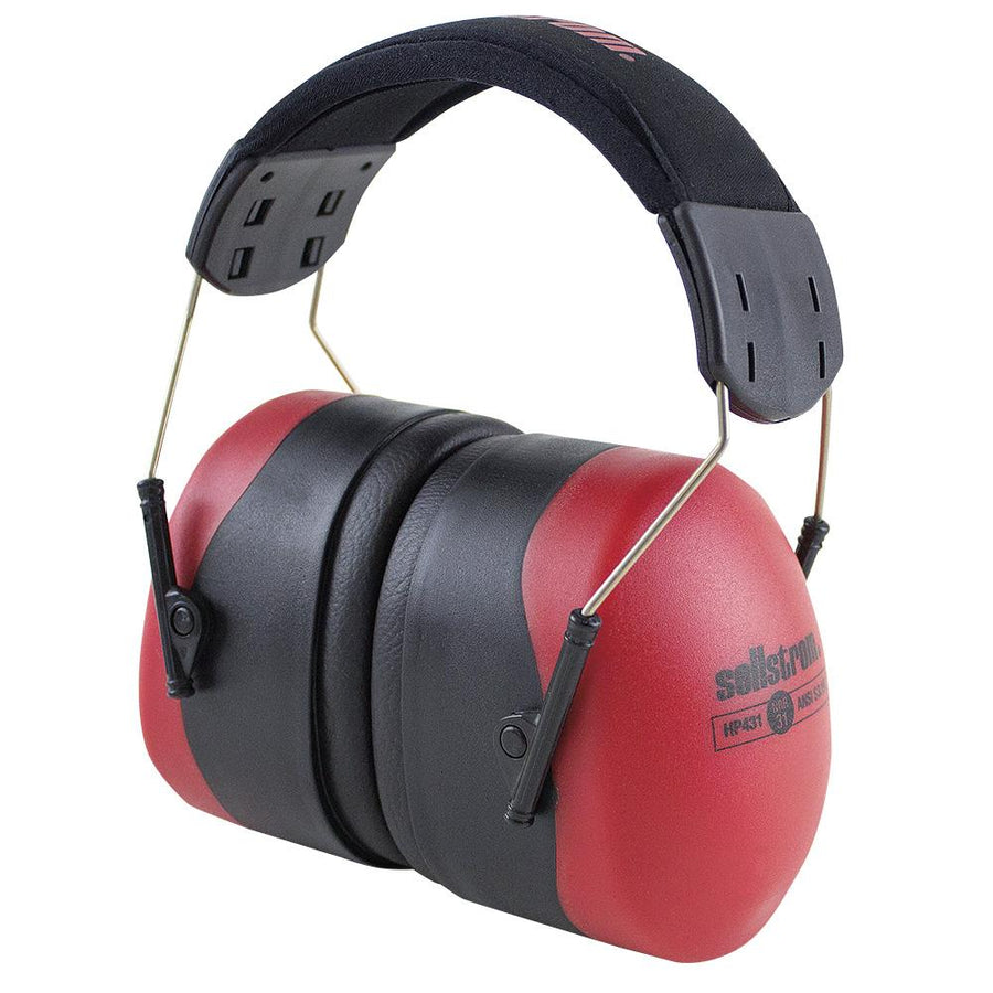 Sellstrom HP431 Premium Industrial Earmuffs | NRR 31dB Personal Protective Equipment - Cleanflow