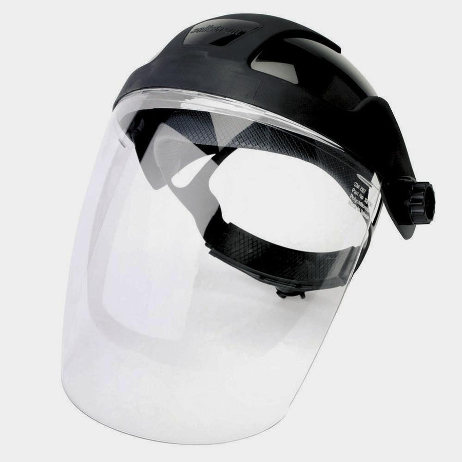 Sellstrom DP4 Premium Face Shield with Ratcheting Headgear