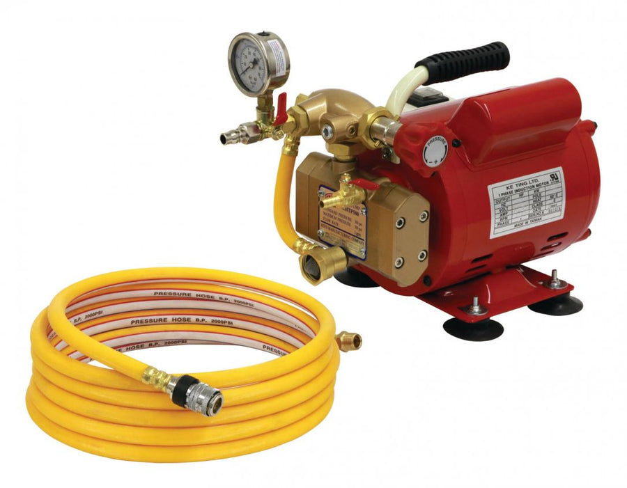 Reed EHTP500 Electric Hydrostatic Test Pump Pipe Tools - Cleanflow