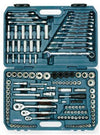 Signet Industrial 149 Piece All Drive Socket Set | SAE/Metric Mechanic Tools - Cleanflow