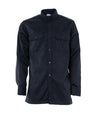 STC Long Sleeves Shirt Electric arc protection | Navy | Sizes Small to 5XL Flame Resistant Work Wear - Cleanflow