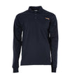 STC Long Sleeves Polo Electric Arc Protection | Navy | Sizes Small to 5XL Flame Resistant Work Wear - Cleanflow