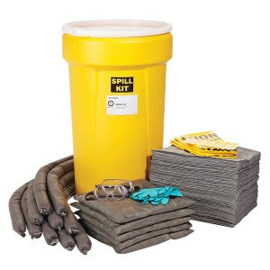 SpillTech 55 Gallon Stationary Universal Spill Kit Facility Safety - Cleanflow