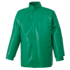 Ranpro CA-43® FR Chemical/Acid Resistant Jacket - PVC/Poly | Green | Sizes Small - 4XL Flame Resistant Work Wear - Cleanflow