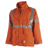 Ranpro Petro-Gard® FR/ARC Rated Safety Jacket - Neoprene Coated Nomex® | Orange | Sizes Small - 4XL Flame Resistant Work Wear - Cleanflow