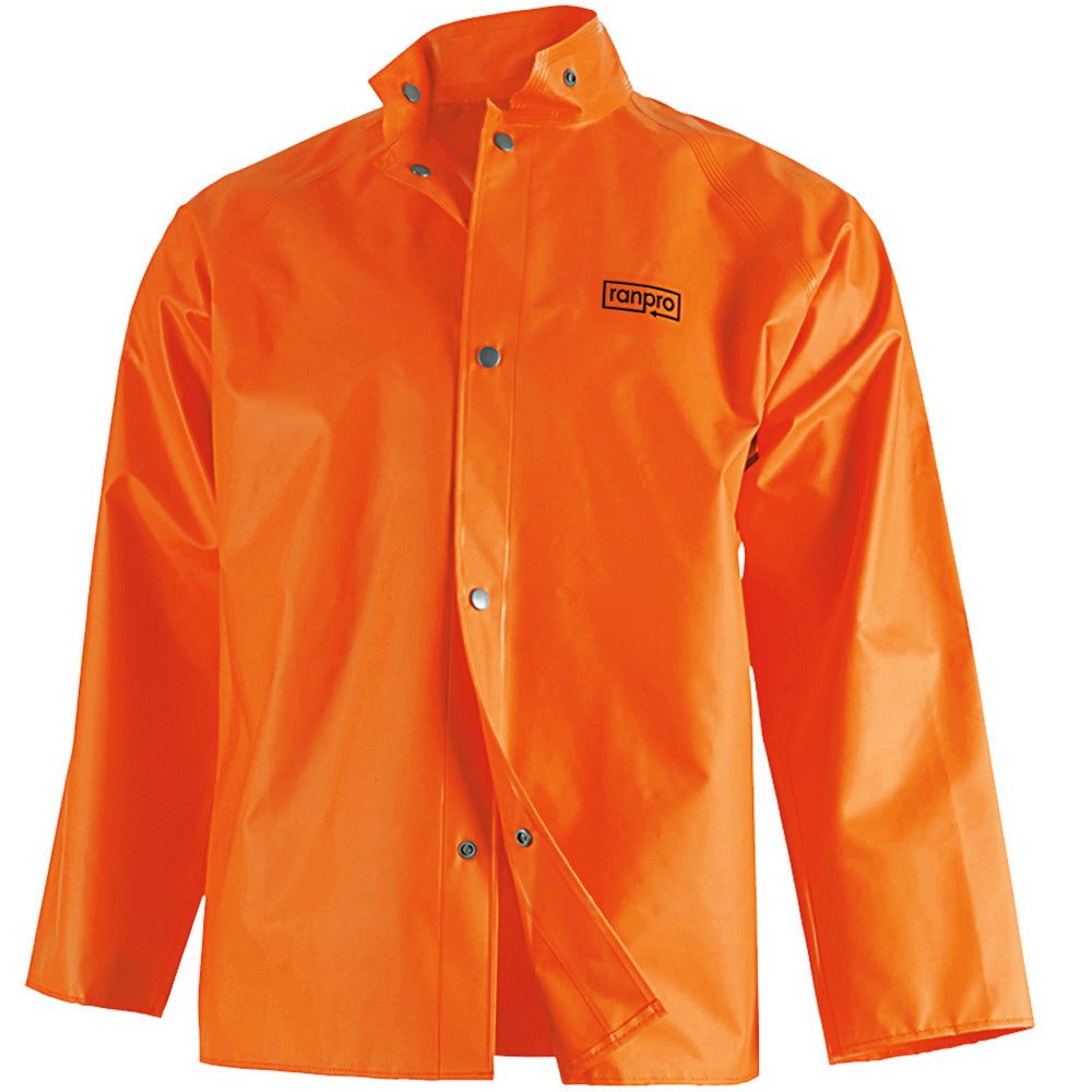 Ranpro Rainshield Rain Jacket | Orange | S-4XL Work Wear - Cleanflow
