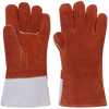 Ranpro High Heat Leather Gloves - Foam Lined Personal Protective Equipment - Cleanflow