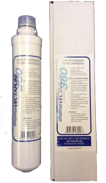 Vectapure 360 Blue 5 Micron Sediment Replacement Filter Cartridge
