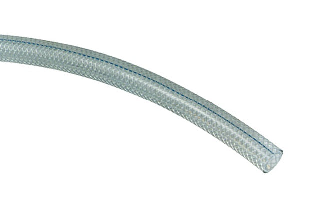 Vinylite Clear Reinforced PVC Food Grade Hose (Hose Only - No Ends) Hose and Fittings - Cleanflow