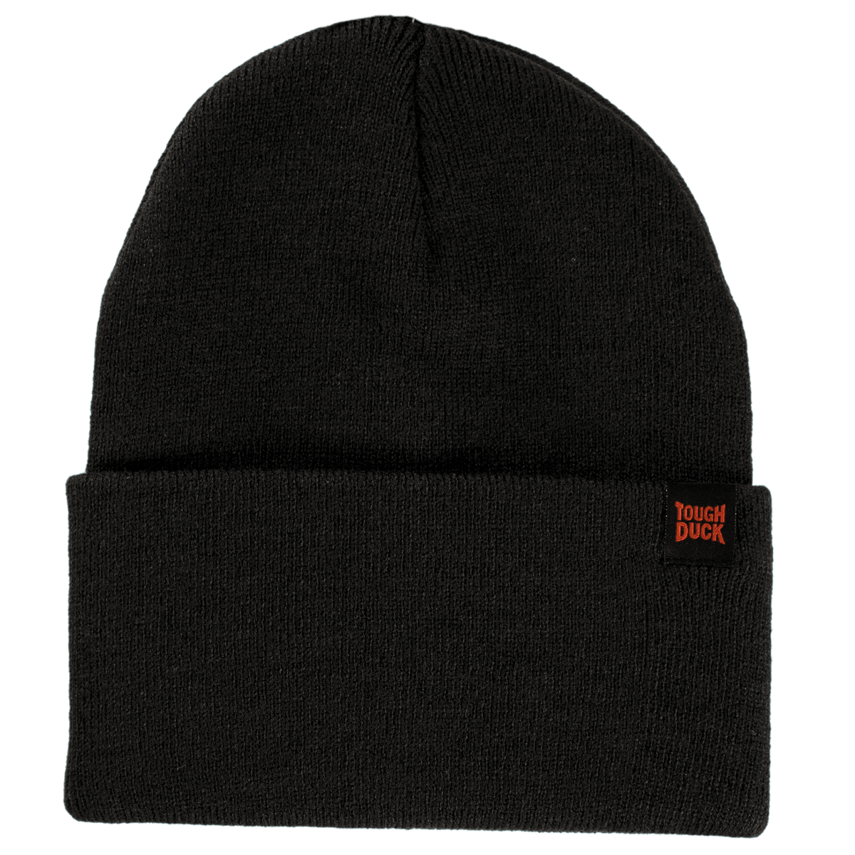 Tough Duck WA16 Classic Beanie Watch Cap | Black | Limited Quantities Work Gloves and Hats - Cleanflow