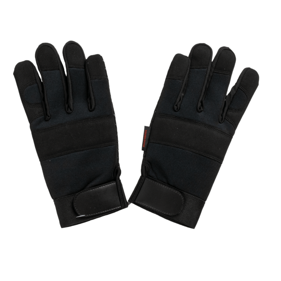 Tough Duck WA34 Precision Fit Grip Glove - Black Work Gloves and Hats - Cleanflow