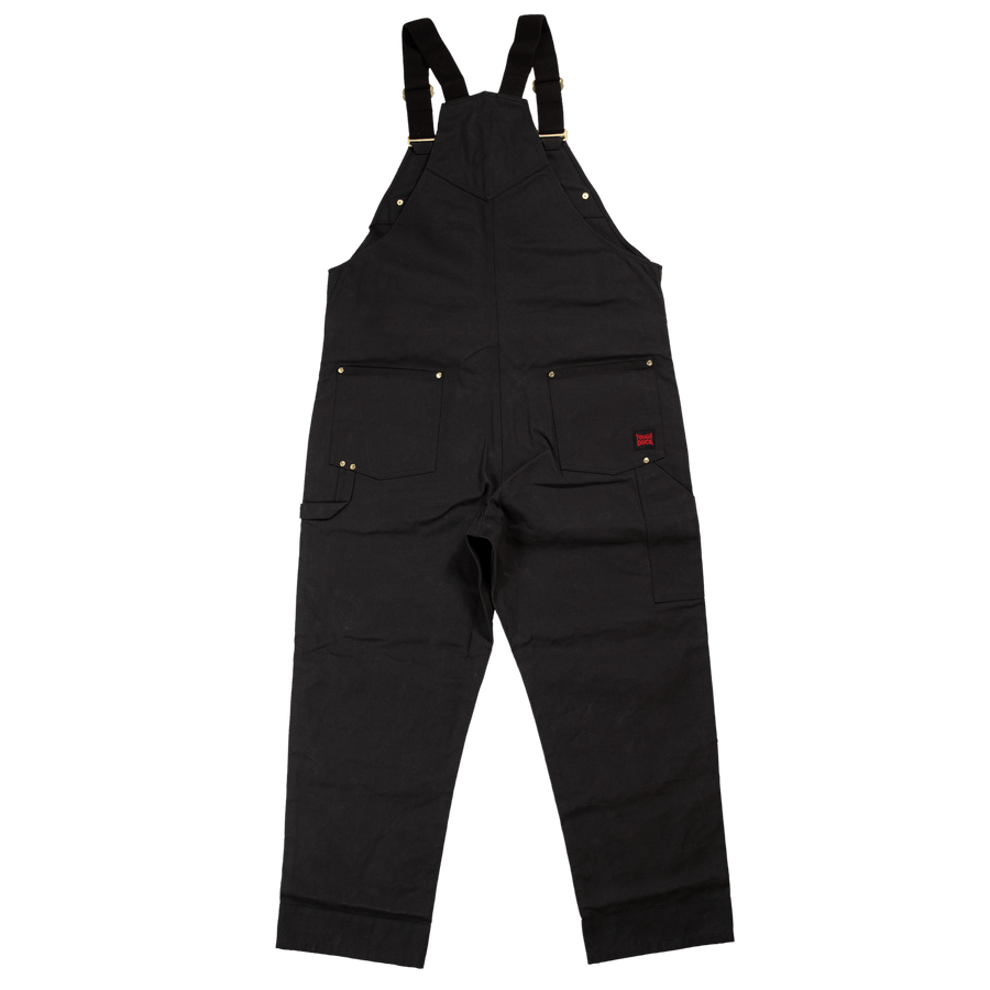 Tough Duck WB04 Deluxe Unlined Bib Overall | Black | Limited Size Selection Work Wear - Cleanflow