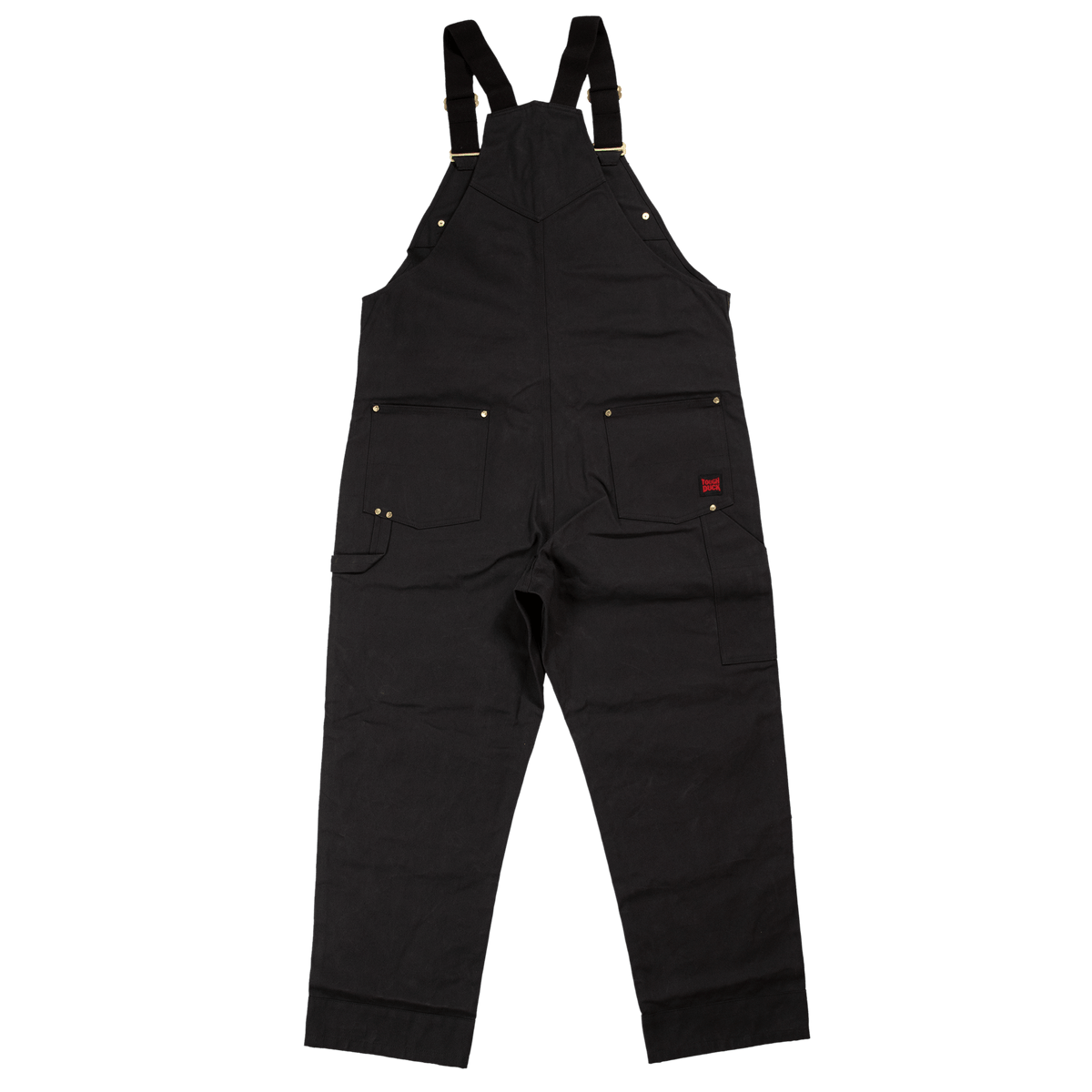 Tough Duck WB04 Deluxe Unlined Bib Overall | Black | S-5XL Work Wear - Cleanflow