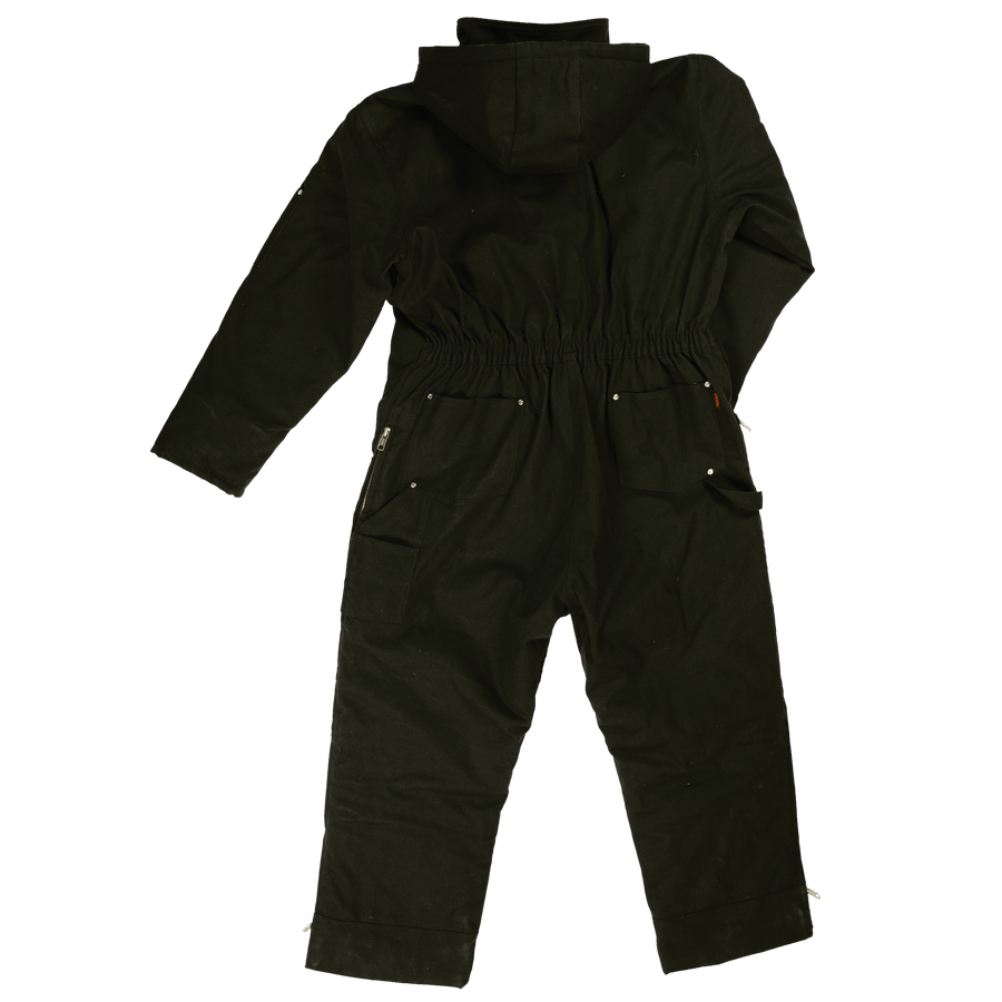 Tough Duck WC01 Insulated Duck Coverall | Black | S-5XL Work Wear - Cleanflow