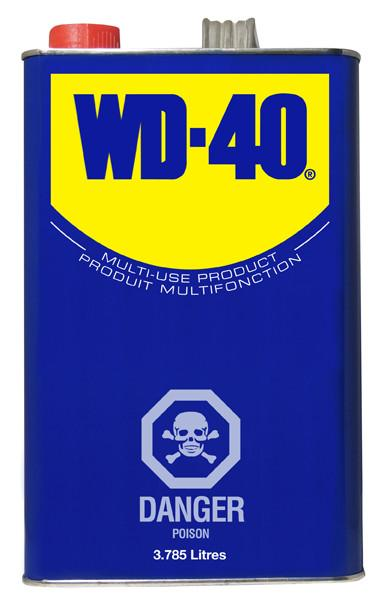 WD-40 Gallon Size Lube Can Maintenance Supplies - Cleanflow