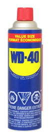 WD-40 Value Size | 411g Can - Case of 12 Maintenance Supplies - Cleanflow