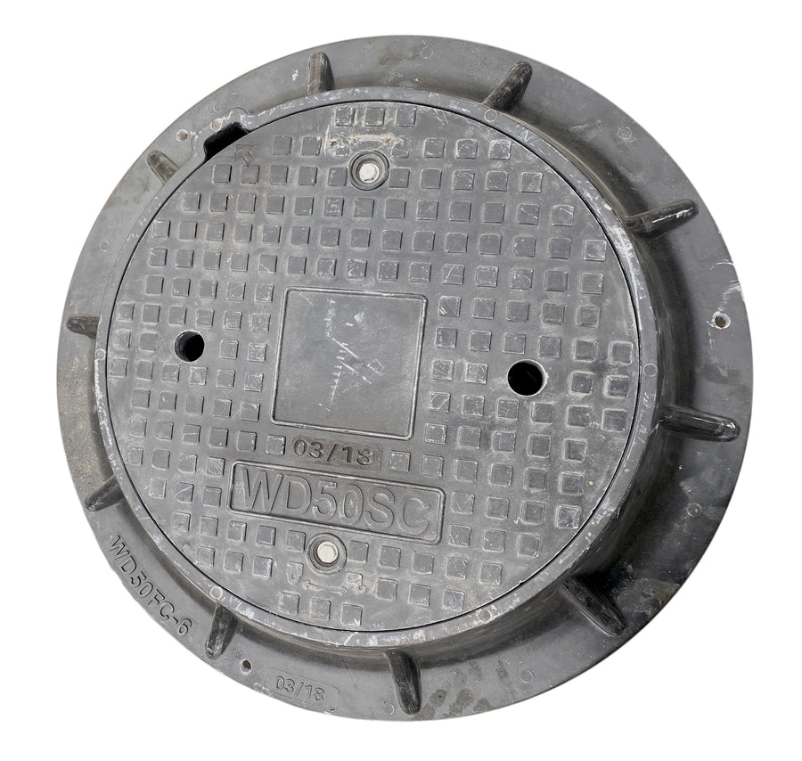 Composite Manhole Frames & Covers - City of Winnipeg Style Waterworks Products - Cleanflow