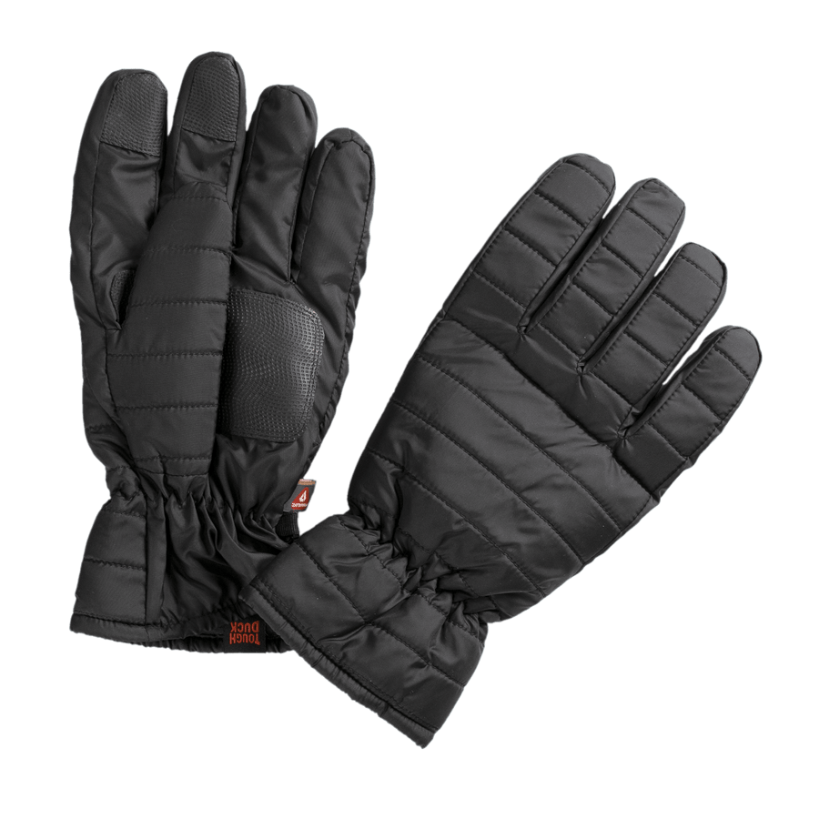 Tough Duck WG05 Packable Quilted Glove - Black Work Gloves and Hats - Cleanflow
