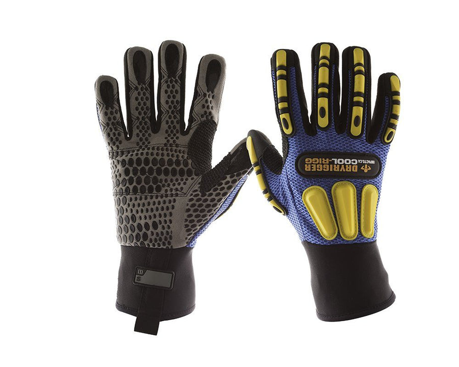 Impacto WGCOOLRIGG Dryrigger Series Coolrigger Work Gloves and Hats - Cleanflow